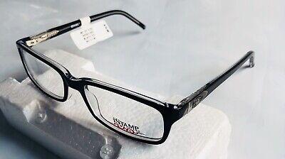iStamp Men's  Eyeglass Frames Optical XP 618z Black 021 54-17-140 (Men's Optical Frames)