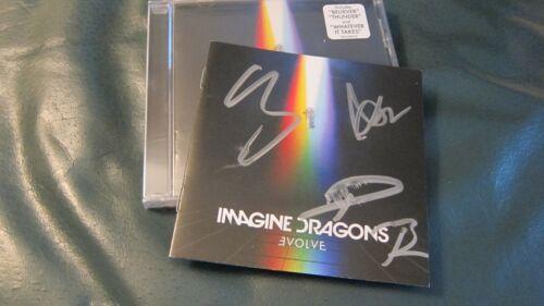 Imagine Dragons Evolve FULLY SIGNED cd booklet autographed 2017