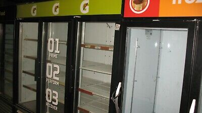 2 Door Glass Door Cooler Or Freezer More Units