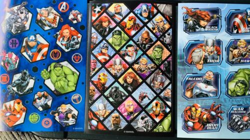 Home Decoration - Avengers Stickers  3 Sheets Free Shipping Sale