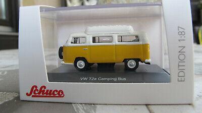 VW T2a Kasten bedruckt mit Modell-Auto-Shop  u.Schuco  1:87 Schuco neu OVP