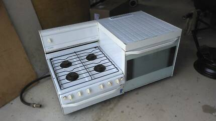 CHEF CONSUL ELEVATED SIDE BY SIDE GAS OVEN / STOVE FOR SALE