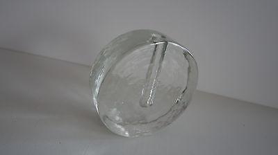 Wiesenthalhütte Wiesenthal Zweigvase Vase Orchideenvase rund Glas Klaus Breit 3