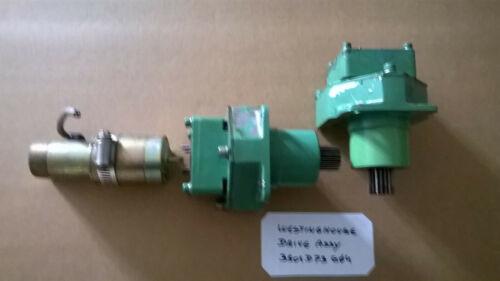 Westinghouse Gear Box Drive Assy 3501D73G04 (1500 mm/min)