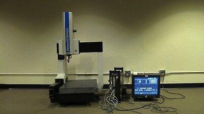 Brown Sharpe Microval Manual Cmm Coordinate Measuring Machine System