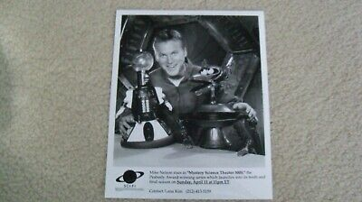 1999 Mystery Science Theater 3000 photo Mike Nelson Sci Fi