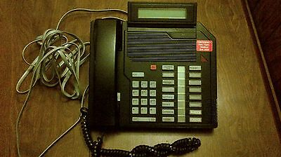 Northern Telecom Ntzk16ba03 M2616 Wdisplay Business Telephone Black
