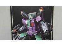 Transformers Toys Zeta ZA-04 Armageddon UPROAR G1 BRAWL in Stock