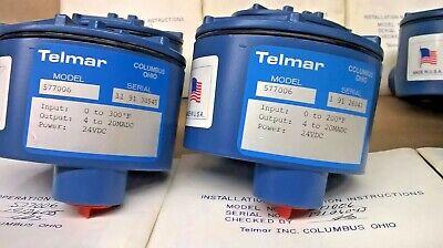 Telmar Explosion Proof Rtd Temperature Transmitter Model 577006