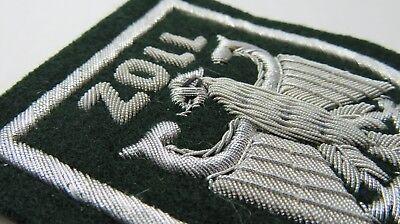 ZOLL - handgestickt #A Stoffabzeichen 90er Jahre Patch Polizei Abzeichen CUSTOMS