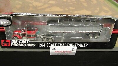 DCP#31559 OWNER OPERATOR PETE 379 SEMI CAB TRUCK &EAST END DUMP TRAILER 1:64/FC, used for sale  Shipping to Canada