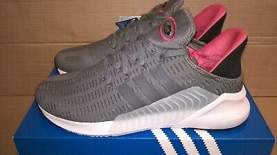 NEW MEN'S ADIDAS  CLIMACOOL 02/17 TRAINERS w/tags in box - UK SIZE 10 - GREY