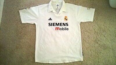 757019562 Zinedine Zidane Real Madrid  5 jersey Size L