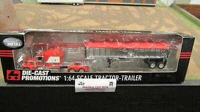 DCP#32680 A OWNER OPERATOR PETE 379 SEMI CAB TRUCK&EAST END DUMP TRAILER 1:64/FC for sale  Shipping to Canada