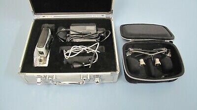 Orascoptic Dental Loupes W. Sunburst Portable Led Light System In Good Condition