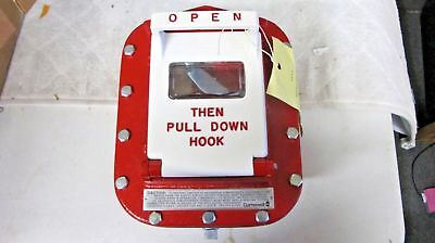 New Gamewell Md59 Fire Alarm Box Explosion Proof Pull Station New With Key