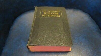 Webster New Universities Dictionary  1942
