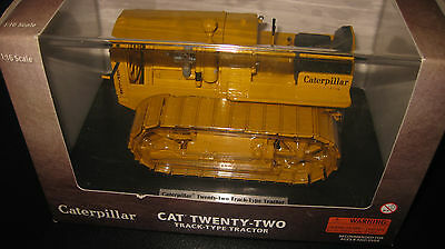 CAT CATERPILLAR 1:16 NORSCOT CAT TWENTY-TWO TRACK TYPE TRACTOR YELLOW 55154