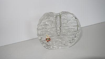 Vase Walther Glas Solifleur Blockvase Glass vase Zweigvase  Vase 70er vintage