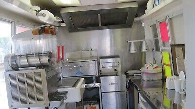 2000 Fibrecore 7 X 14 Food Concession Trailer. Good Condition. Extra Equipment