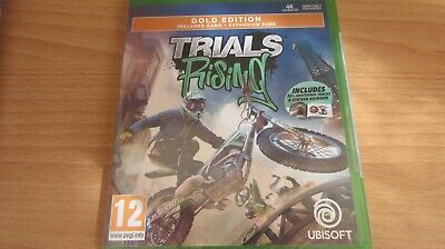 XBOX ONE GOLD EDITION TRIALS RISING GAME BRAND NEW