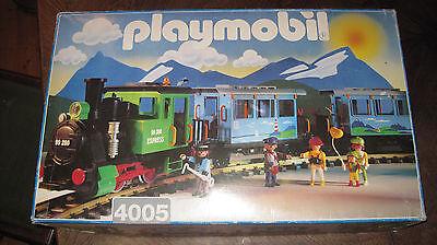 Playmobil LGB 4005 altes Eisenbahn Nostalgieset  inkl. Trafo + Schienen - Rar!!!