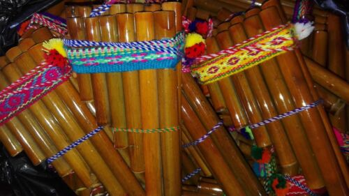 """Lot of 10 PAN FLUTE 13 PIPES beginners panpipes 6.5"""" Free shipping/We have store"""