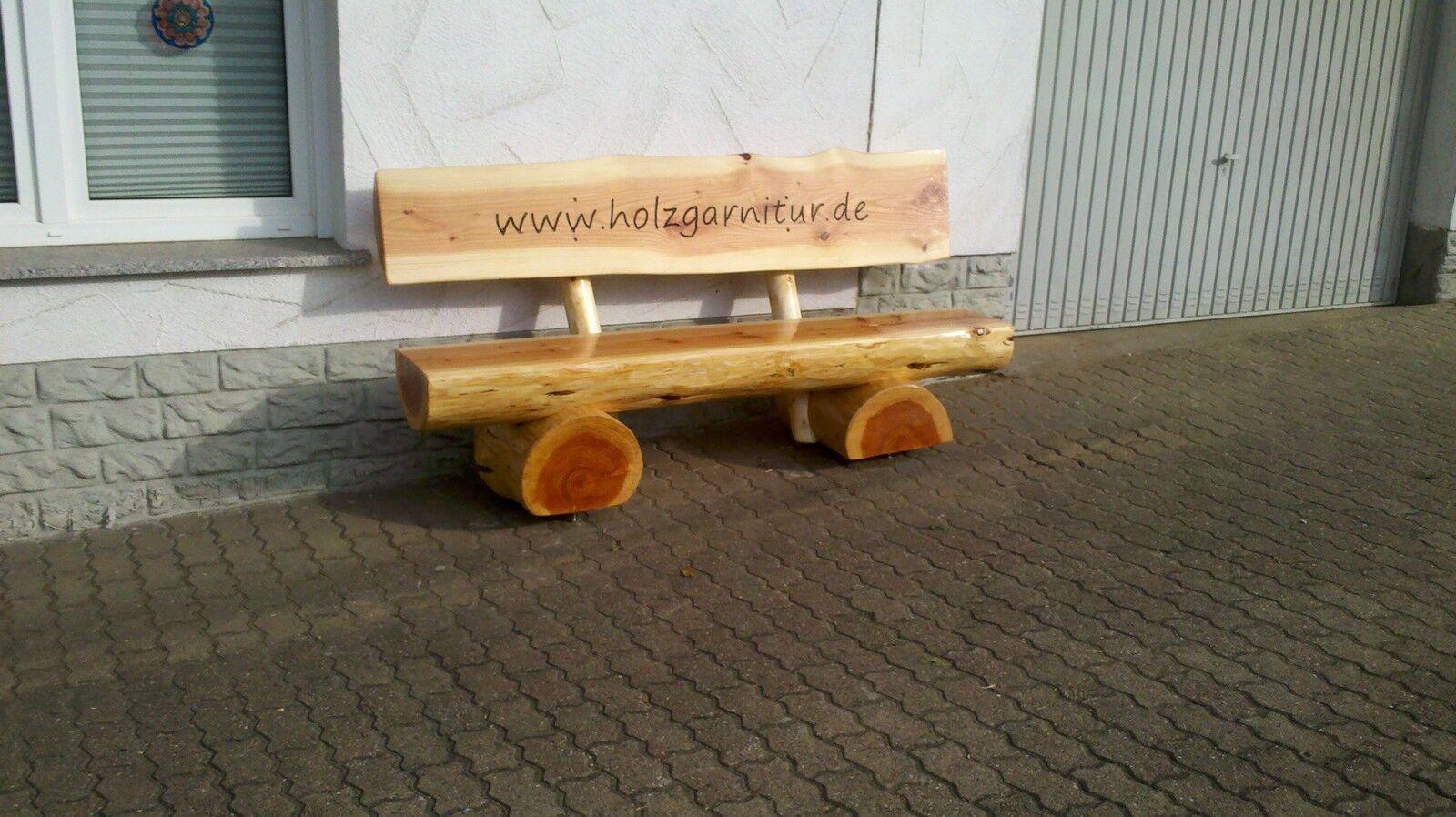 holzbank sitzbank gartenbank rustikal handarbeit b nke. Black Bedroom Furniture Sets. Home Design Ideas