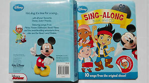 Disney Sing-Along Book & CD  Disney Junior Friends~mickey mouse ~handy manny and