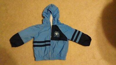 Boys 2T Park Bench Kids UNC Tar Heel North Carolina long sleeve hoodie jacket