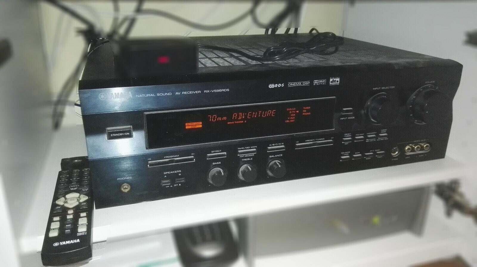 Amplificateur home-cinéma yamaha rx-v596rds