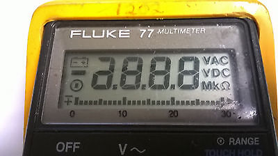 Fluke 77 Series Ii Display Repair Kit And Step By Step Photo Instructions