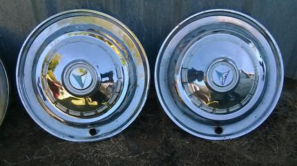 Chrysler Valiant dealer fitted wheel covers Redcliffe Redcliffe Area Preview