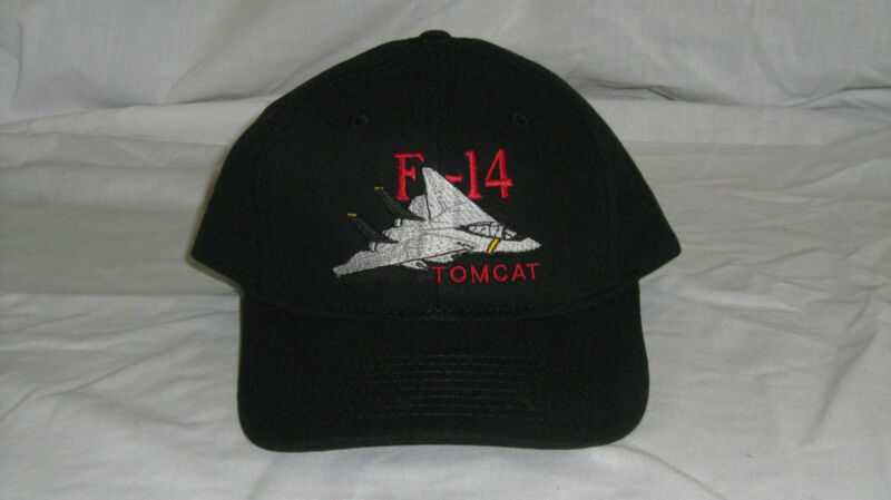 Grumman F-14 Tomcat Military Jet Airplane Embroidered Hat