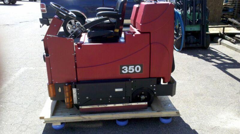 TomCat 350 35-inch Disc Rider Floor Scrubber under 700Hours