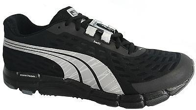Puma Faas 600 V2 Night Cat Powered Black Running Trainers Shoes 187408 01 B82A