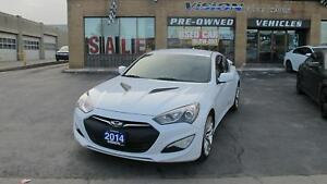 2014 Hyundai Genesis Coupe 2.0T R-Spec/SATELLITE RADIO/MANUAL