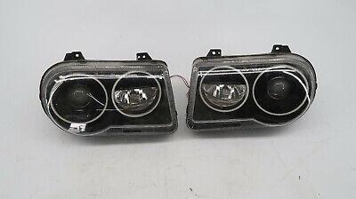 2005-2007 Chrysler 300 Front Headlights Eagle Eyes Lamp Left Right C3
