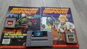 Nintendo power and nintendo games
