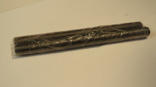 """FABORY 1""""-8 X 1 FOOT LENGTH 304 STAINLESS STEEL FULLY THREADED ROD **4-PACK**"""