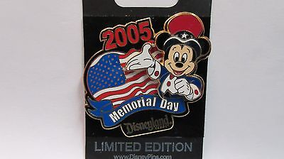 Disneyland Resort 2005 Mickey Memorial Day Trading Pin - Limited Edition of 1500