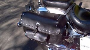 VStar Yamaha Motorcycle / Sattle bags and Windshield