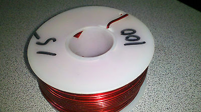 Magnet Wire 15 Awg 100 Ft Red About 1.5 Lbs