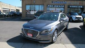 2015 Hyundai Genesis 5.0 Ultimate/LANE DEPARTURE/PANO ROOF/NAVI