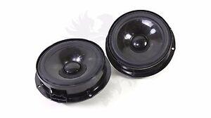 2x REAR SET NEW Genuine VW OEM FENDER Audio BEETLE Speakers Woofer Driver System