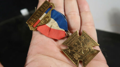 1895 PA State Firefighters Souvenir Medal Reading Pa
