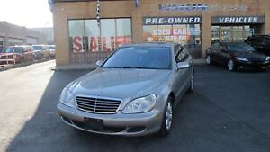 2006 Mercedes-Benz S-Class 430 4MATIC/NAVIGATION/SUNROOF/CLEAN C