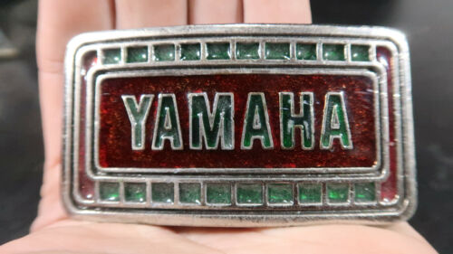 1975 Yamaha Motorcycle Belt Buckle Biker Limited Edition MM Unlimited