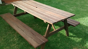 Jarrah picnic table Victor Harbor Victor Harbor Area Preview