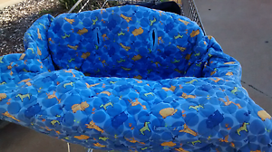 Blue Animal Shopping Trolley Cover Toowoomba Toowoomba City Preview